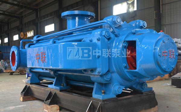 自平衡矿用耐磨多级离心泵